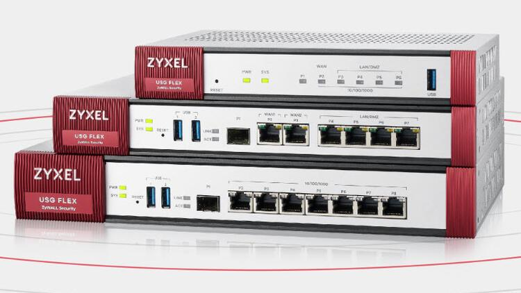 Zyxel, yeni güvenlik duvarı serisi USG FLEX'i satışa sundu