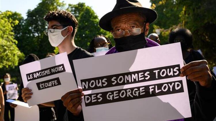 Fransa'da göstericilerle polis arasında çatışma! George Floyd eylemleri yayılıyor