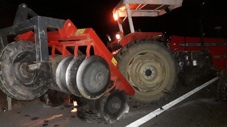 Gece yarısı feci kaza! 10 kişi yaralı