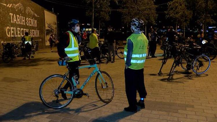 Koronavirüs nedeniyle ara verilen bisiklet turları tekrar başladı
