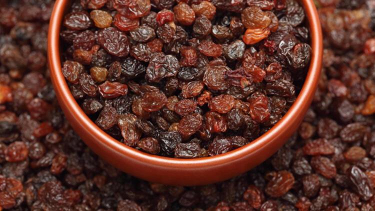 Kuru üzümün bu faydalarını biliyor musunuz?