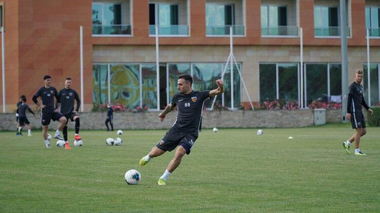Kayserispor'da Fenerbahçe maçı hazırlıkları sürüyor