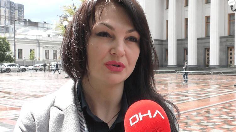 Ukrayna'da 'Ermeni Soykırımı' ifadesinin yasaklanmasında önemli rol oynayan milletvekili Ludmila Marçenko DHA'ya konuştu