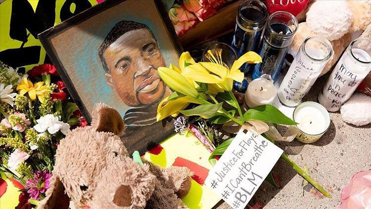 George Floyd için ilk cenaze töreninde duygu seli