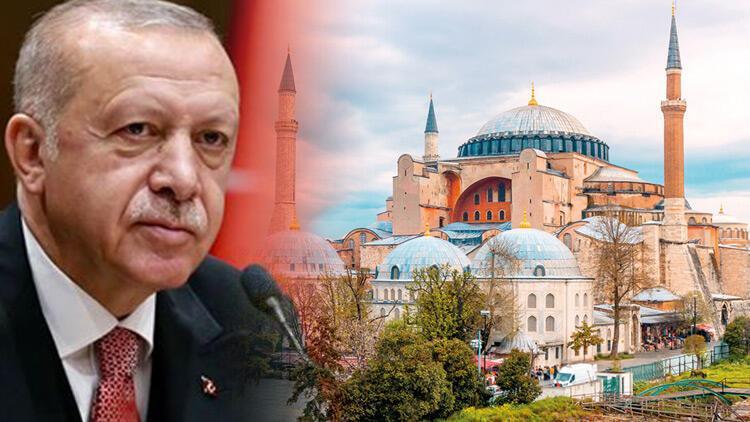 Son dakika haberler: Ayasofya'ya formül aranıyor Cumhurbaşkanı Erdoğan: Çok hassas olun, iyi araştırın