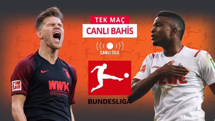 Bundesliga maçına 11,00 iddaa oranı! Köln, Augsburg deplasmanında...