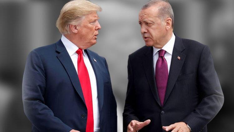 Cumhurbaşkanı Erdoğan'la Trump arasında kritik görüşme