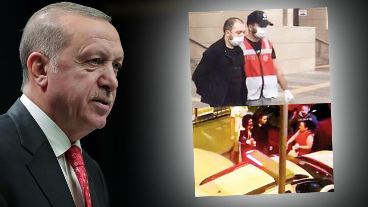 Cumhurbaşkanı Erdoğan toplantıda tepki gösterdi: Bu nasıl olur, nasıl serbest kalır?