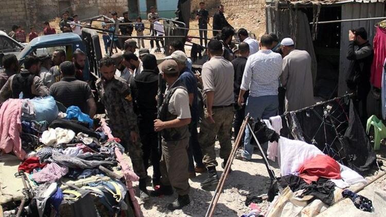 YPG/PKK Bab'da pazar yerine saldırdı