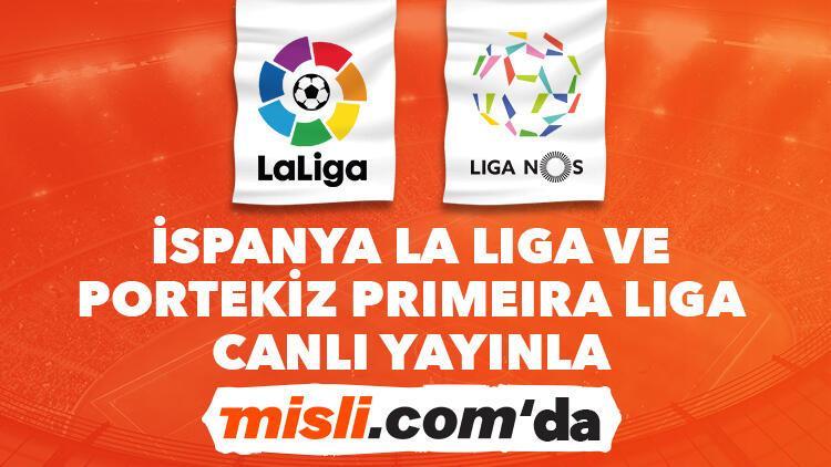 İspanya La Liga ve Portekiz Primeira Liga canlı yayınlarla ve canlı iddaa ile Misli.comda