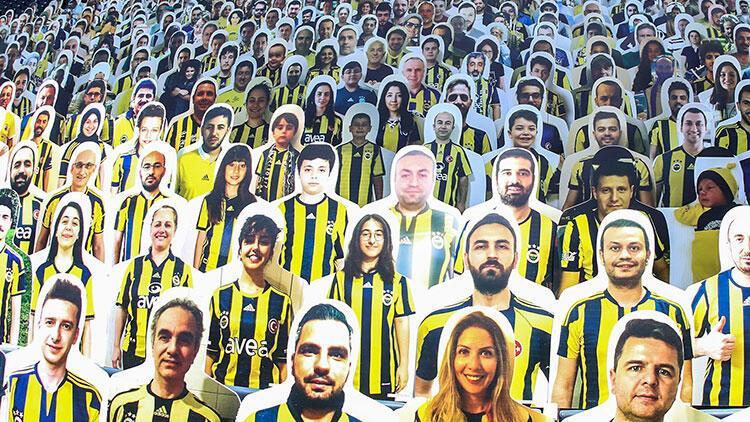 Fenerbahçe Kulübü, Ülker Stadı'na taraftar kartonetleri yerleştirdi