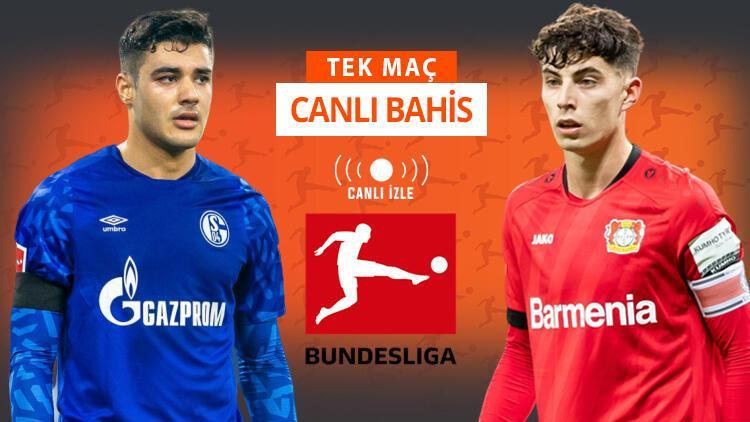 Ozan Kabak, Misli.com'da CANLI YAYINDA! Schalke'de tam 9 eksik, iddaa'da Leverkusen...