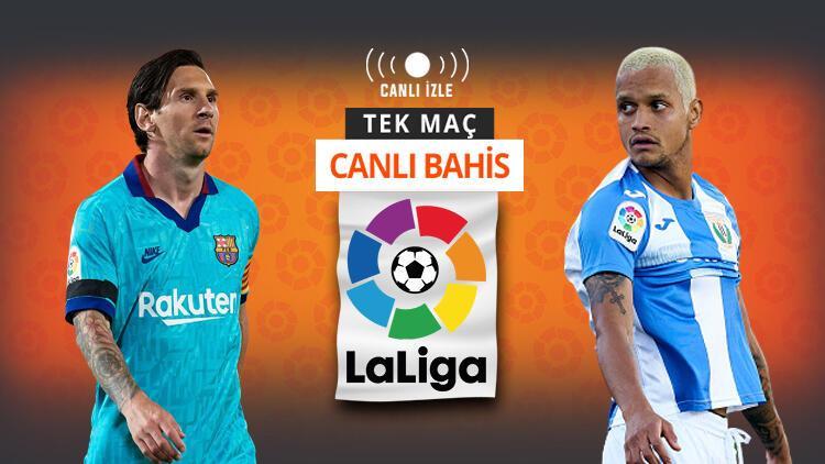 Mallorca'yı farklı geçen Barcelona, Leganes'i ağırlıyor! Kazanırlar ve maçta 3 gol olursa iddaa'da...