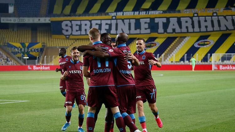 Fenerbahçe 1-3 Trabzonspor   Maçın özeti ve golleri