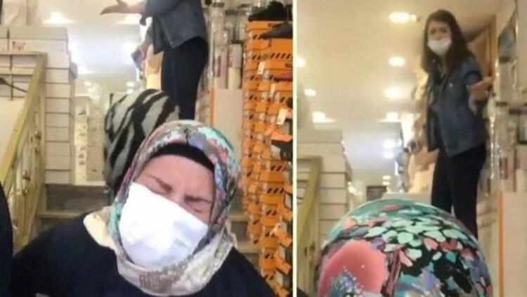 Annesini mağazanın merdivenlerinden iten kızın ifadesi alındı