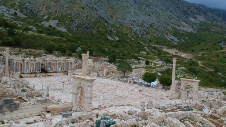 Aşkların şehri Sagalassos ziyaretçilerine kavuştu
