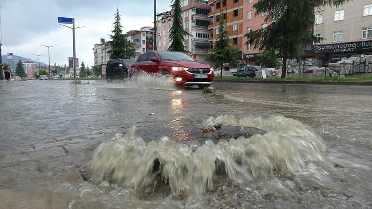 Ordu için 'şiddetli yağış' uyarısı