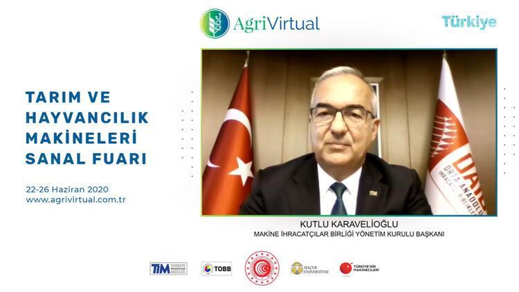 Makine İhracatçıları Birliği Başkanı Kutlu Karavelioğlu: Tarım makineleri ihracatımızı 17 yılda 20 kat artırdık