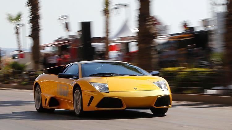 Belçikada ilginç yardım Lamborghini satana destek verildi