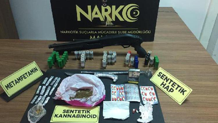 2 ilde uyuşturucu operasyonu: 12 gözaltı