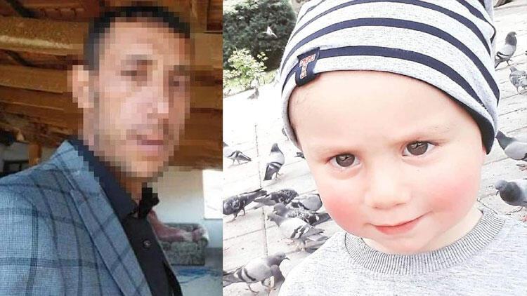 3 yaşındaki Alperen'i döverek öldürmüş, cesedini gömmüştü... Her yerde aranıyor!