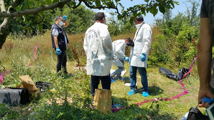 Bursa'da, tarlada erkek cesedi bulundu