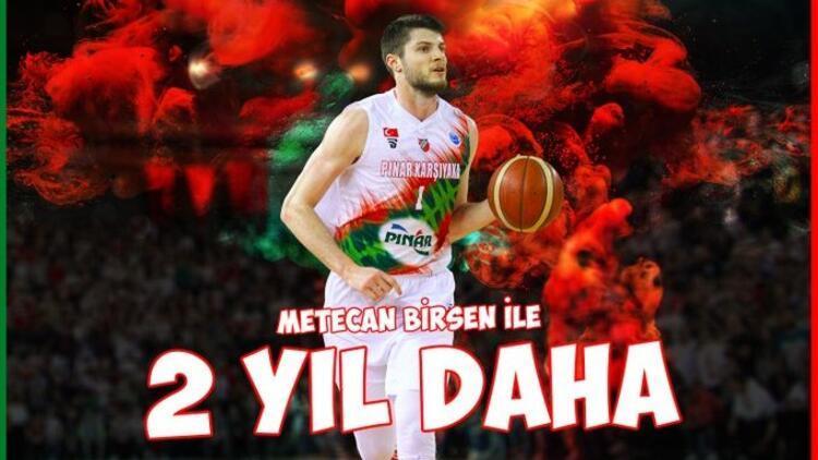 Pınar Karşıyaka, Metecan Birsen ile sözleşme yeniledi! 2 yıllık...