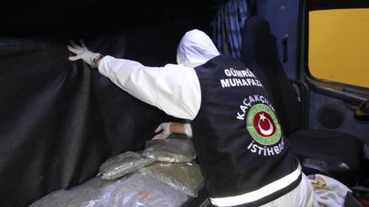 Kapıkule ve Hamzabeyli'de kaçakçılık operasyonları