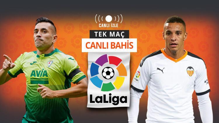VARdan canı yanan Eibar, zorlu maçta Valenciayı konuk edecek Öne çıkan iddaa...