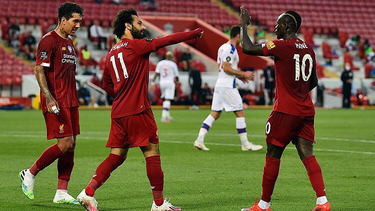 Lider Liverpool, Cyrstal Palace'ı 4 golle geçti