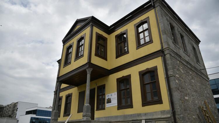 Trabzon'da tarihi bina yöresel lezzetler için bir aşhaneye dönüştürüldü
