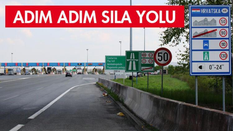 Hırvatistan'da yollar güzel ama, hız yapma