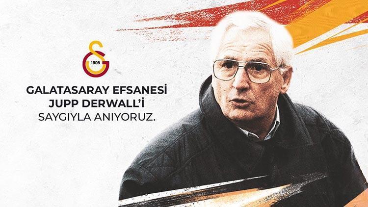 Galatasaray unutulmaz hocası Jupp Derwall'i andı