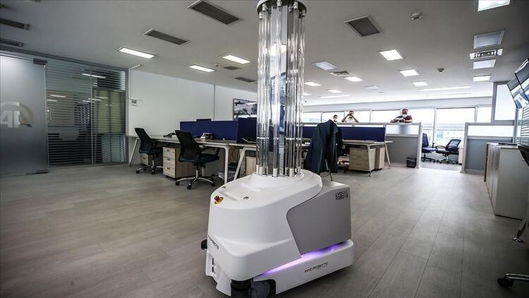 Koronavirüse karşı robotlar seferber olacak