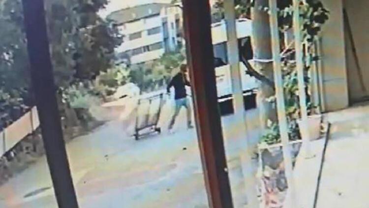 'Çekçek'li kombi hırsızları, kamera görüntülerinden yakalandı