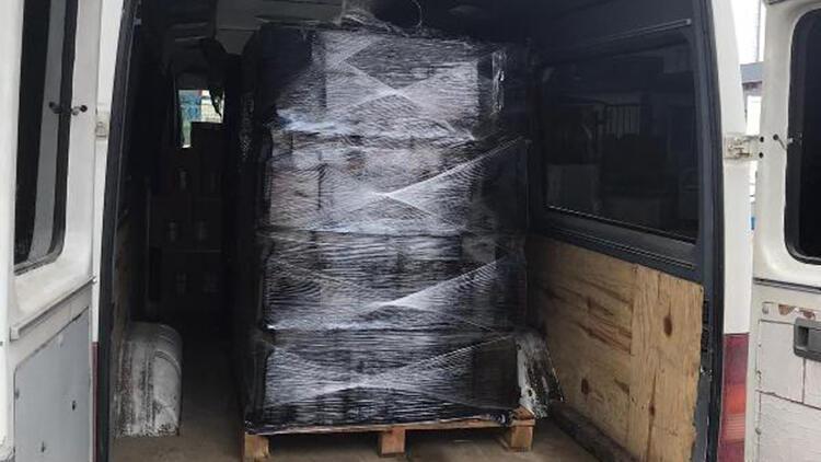 Yalova'da jandarma ekipleri 1500 litre etil alkol ele geçirdi