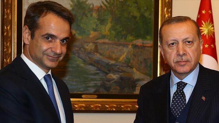 Son dakika... Cumhurbaşkanı Erdoğan, Yunanistan Başbakanı ile görüştü
