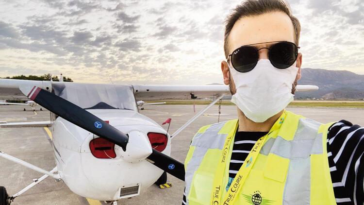 Ümit Erdim, pilot oluyor!