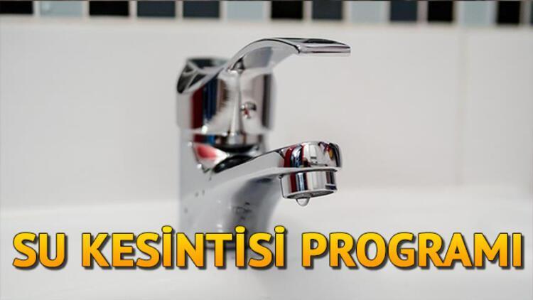 İstanbul'da (Beykoz, Bakırköy) sular ne zaman gelecek? İSKİ 27 Haziran su kesintisi programı