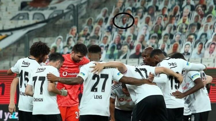 Beşiktaş - Konyaspor maçında Fikret Orman sürprizi! Vodafone Park'ta karton taraftar...