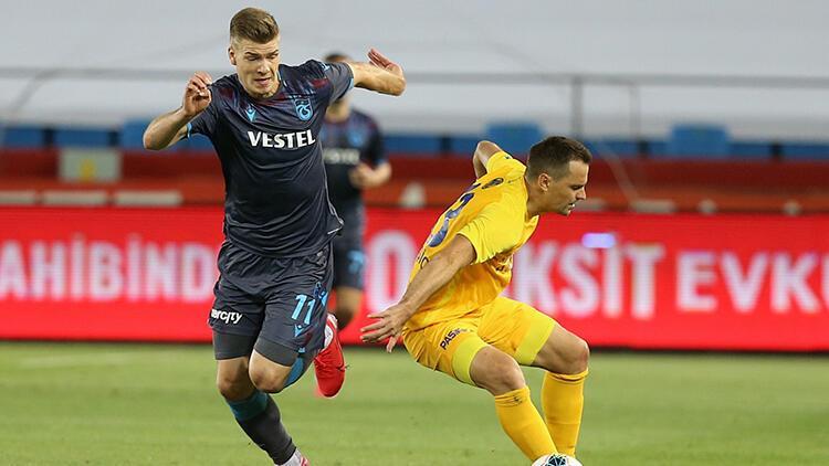 Trabzonspor 1-1 Ankaragücü   Maçın özeti ve golleri