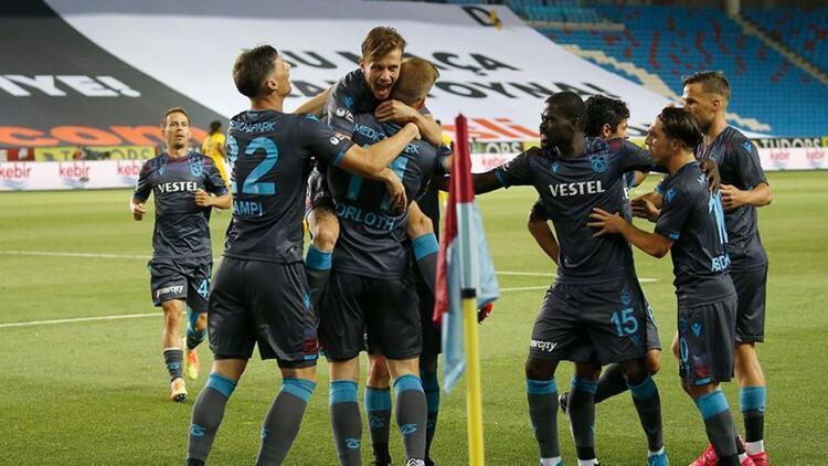 Trabzonspor, skor üstünlüğünü koruyamıyor! 22 puan...