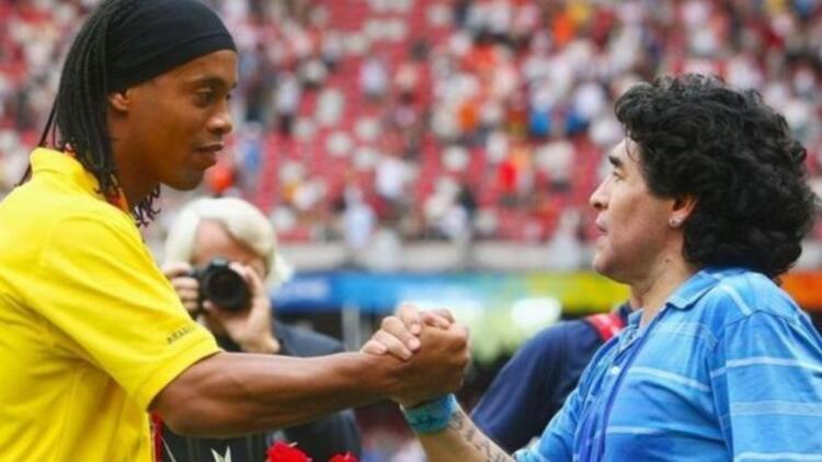 Ronaldinho futbola dönmek istiyor! Maradona ile aynı takımda...
