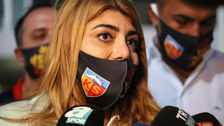 Kayserispor Başkanı Berna Gözbaşı: 'Mensah'ı isteyen kulüpler var'