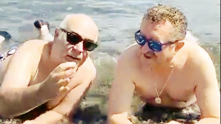Erkan Can ile Güven Kıraç karavan tatilinde
