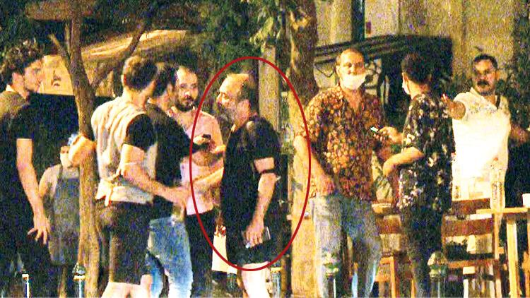 Ünlü oyuncu Ayhan Taş kavganın ortasında kaldı