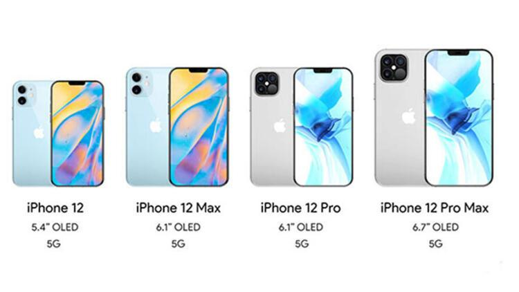iPhone 12, iPhone 12 Max, iPhone 12 Pro ve iPhone 12 Pro Max geliyor