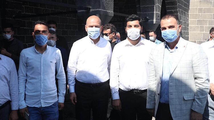 Bakan Soylu, Diyarbakır'da incelemelerde bulundu