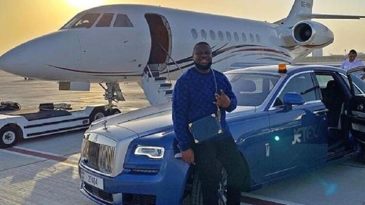 Nijeryalı fenomen 30 milyon sterlin ile yakalandı