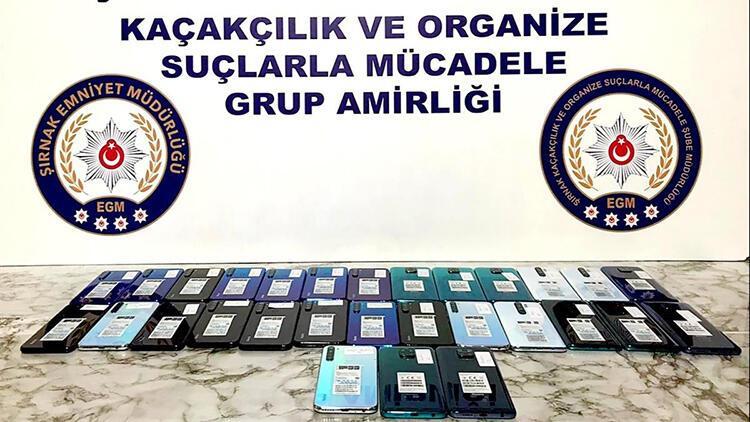 Şırnak'ta 'kaçakçılık' operasyonu: 24 gözaltı